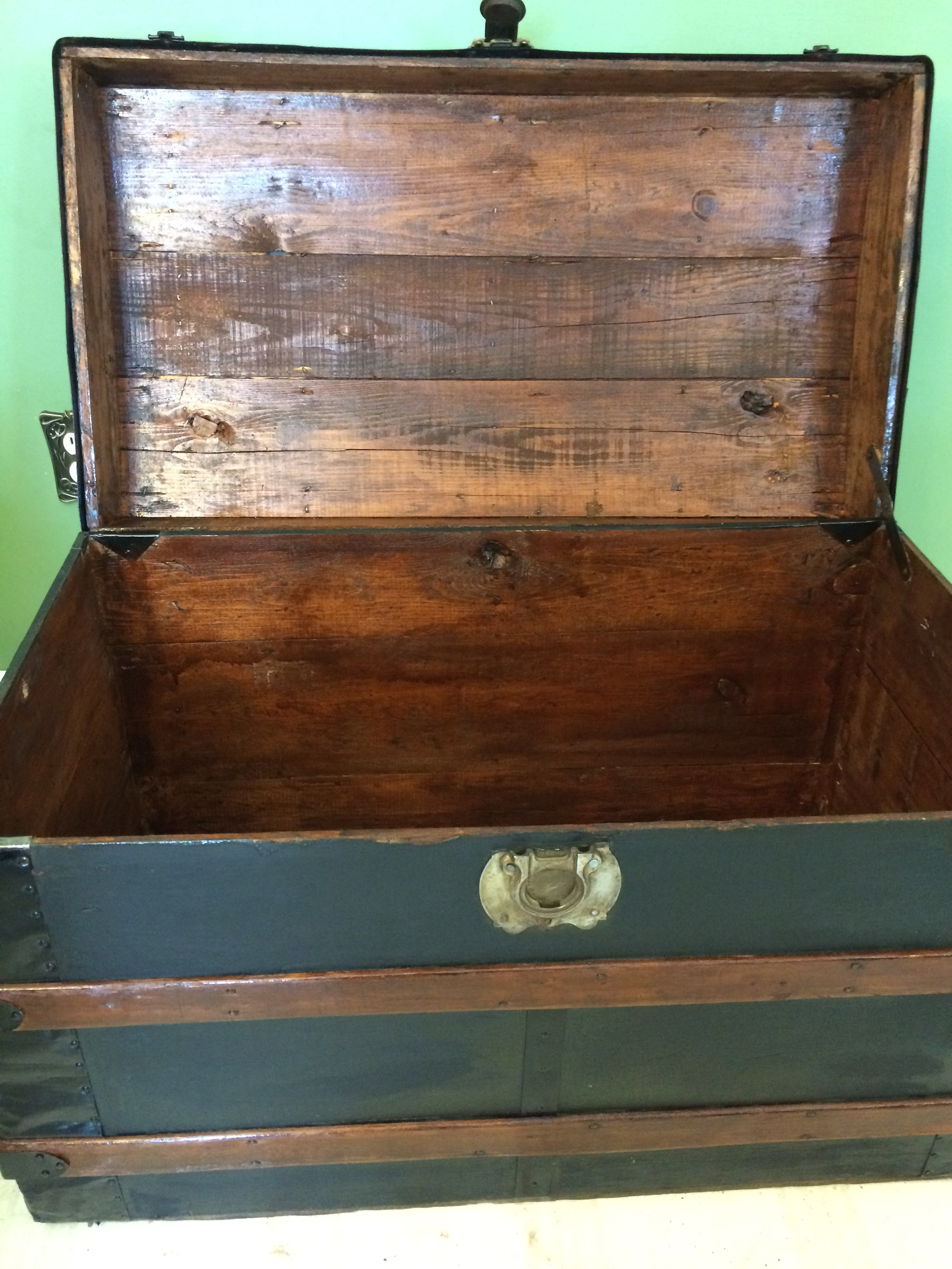Restoring An Old Steamer Trunk Coco For Beauty Blog