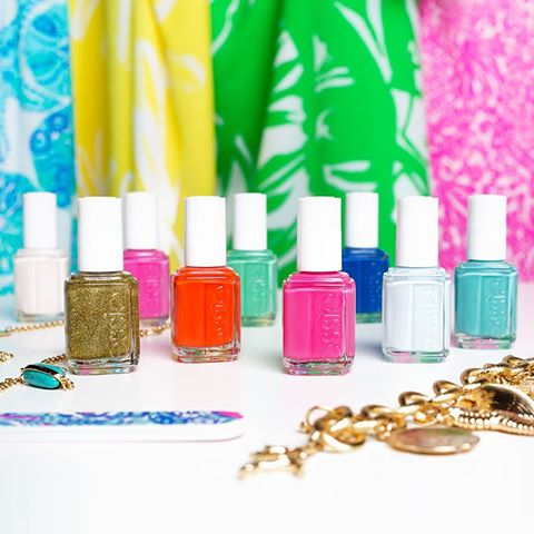 Lilly for Target + Essie Nail Polish
